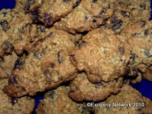 Stacked Ultimate Oatmeal Cookies