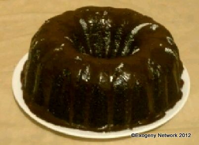 Chocoholic Chocolate Bundt Cake