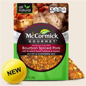 McCormick's Gourmet Bourbon Spiced Pork