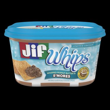 Jif Whips S'mores 15 9 oz  Tub_Front